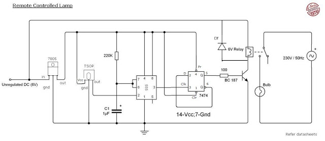 Magnificent Remote Control Light Circuit Diagram Using 555 Timer Circuits Gallery Wiring Cloud Inklaidewilluminateatxorg