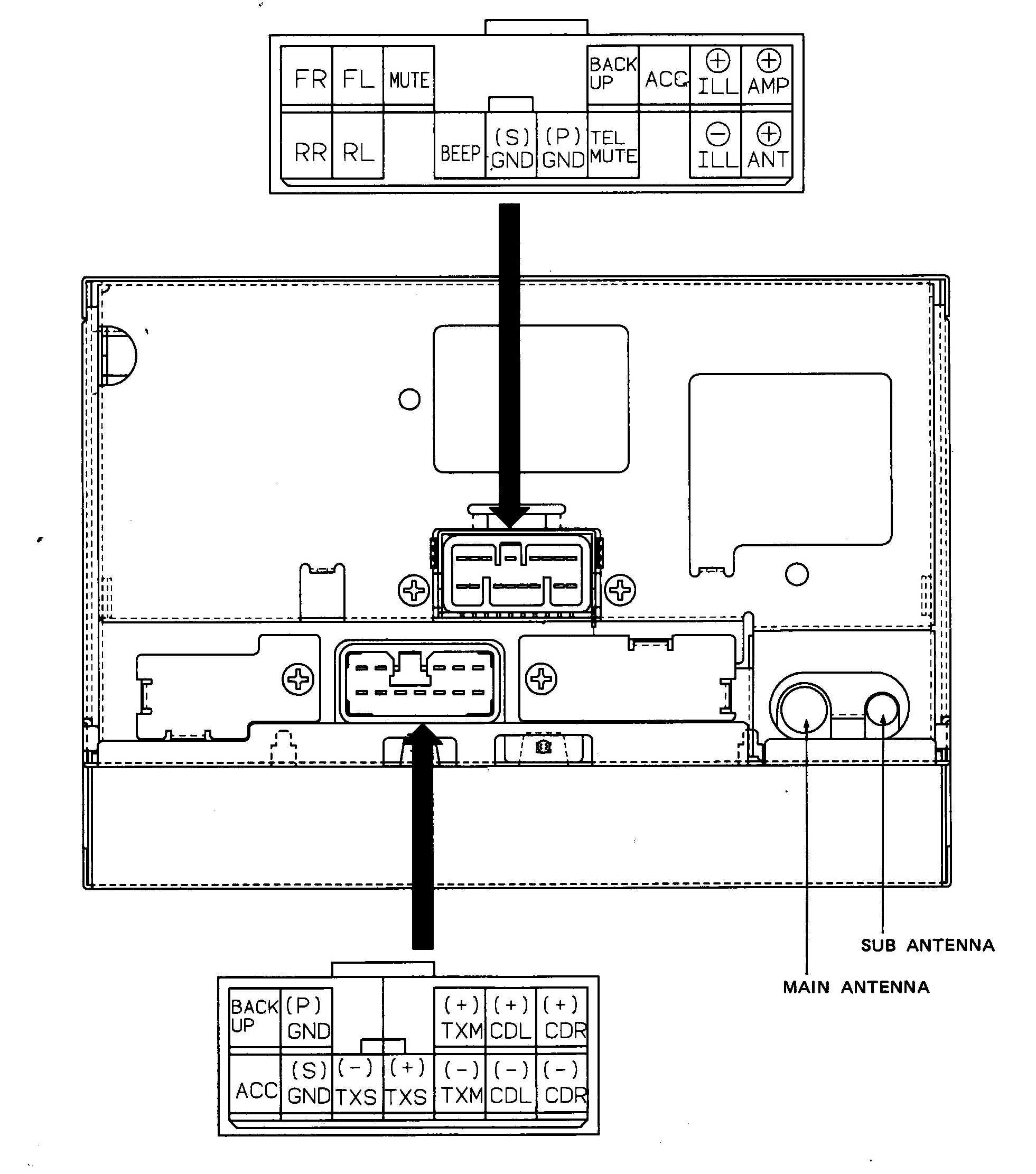 1993 Corvette Bose Radio Wiring Diagram - Wiring Diagram