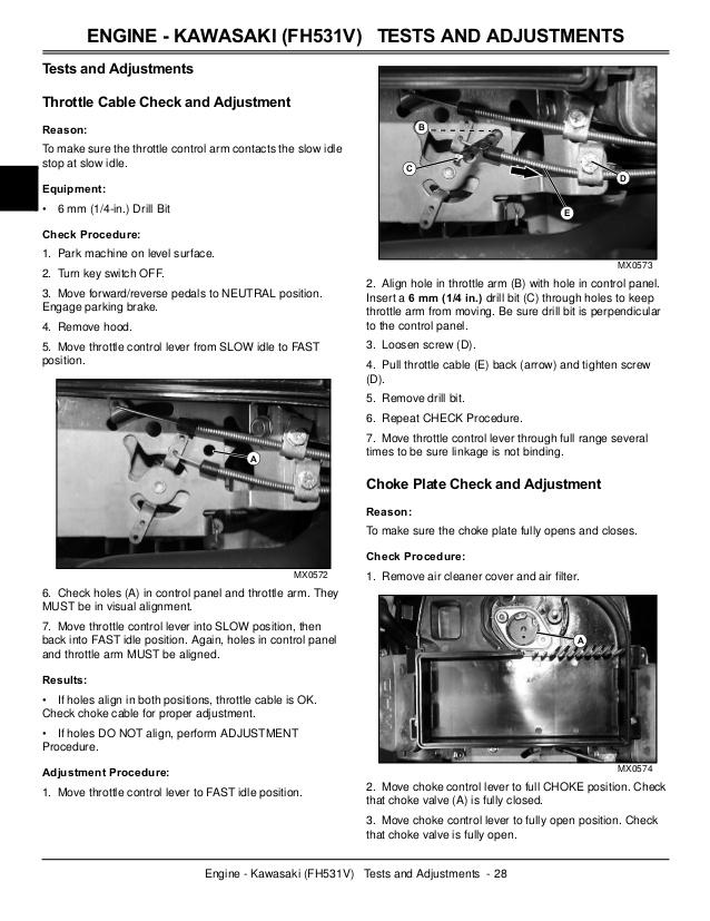 Nw 1347  John Deere 345 Kawasaki Wiring Diagrams Wiring