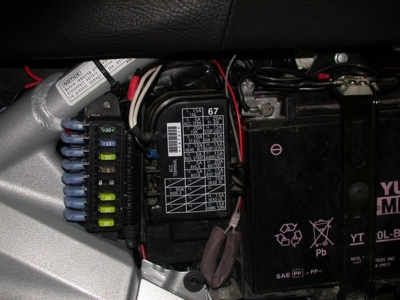 KG_6363] Honda Goldwing Accessory Fuse Box Download Diagram