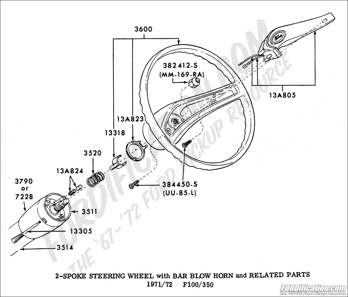 Ss 5345 1996 Ford F 250 Steering Column Diagram Wiring Diagram