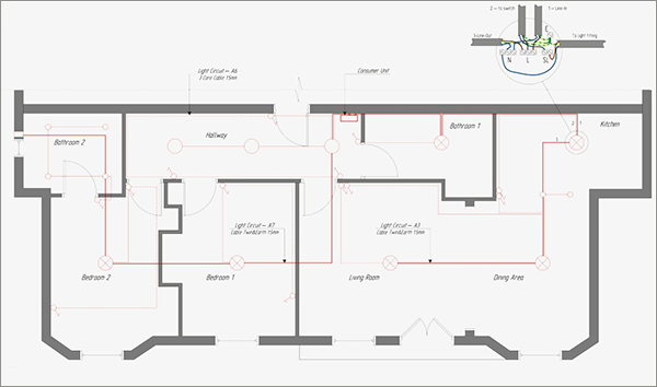 Fabulous Home Electrical Drawing Software Cad Pro Wiring Cloud Lukepaidewilluminateatxorg