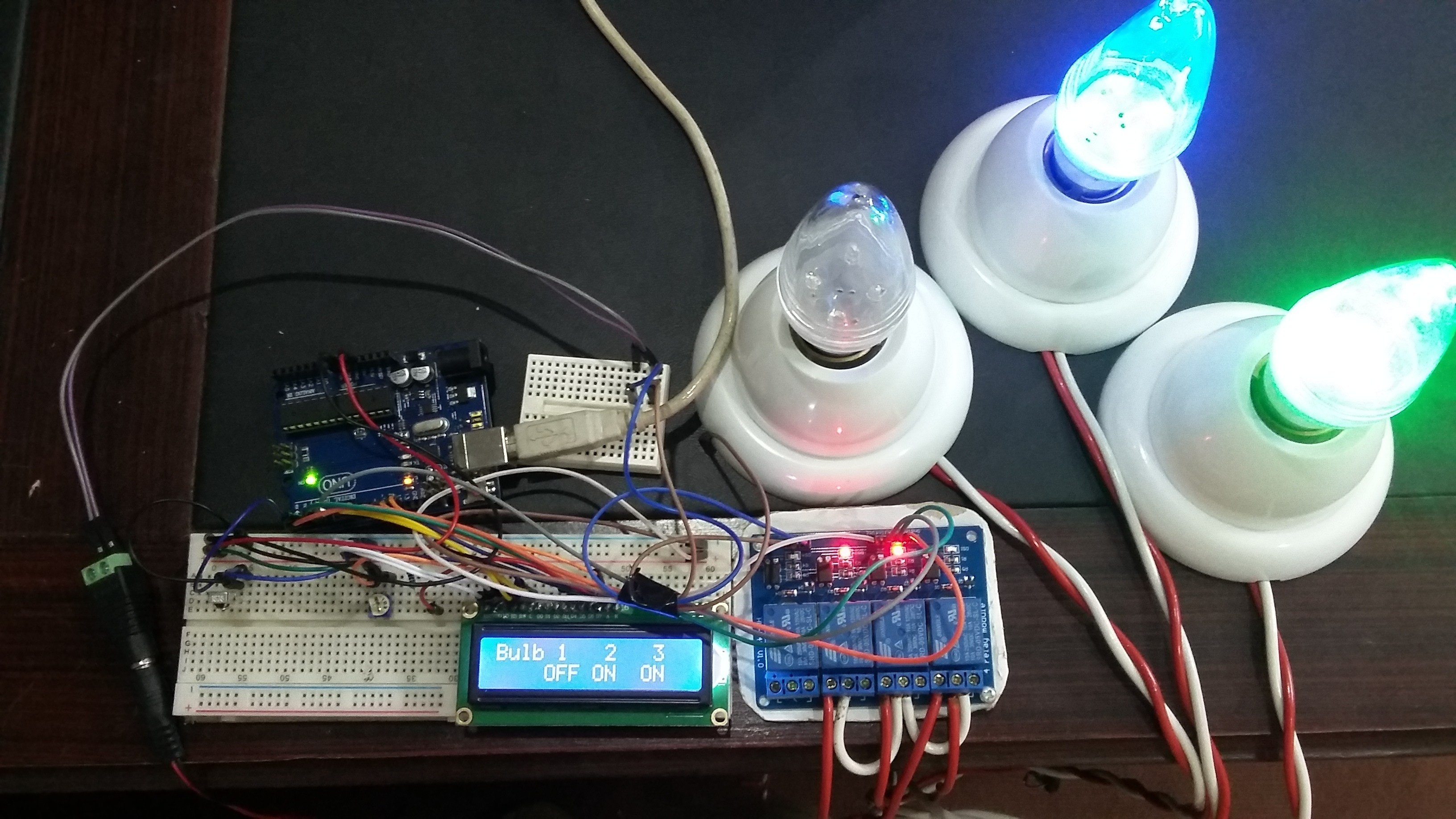 Pleasing Ir Remote Controlled Home Automation System Using Arduino Wiring Cloud Histehirlexornumapkesianilluminateatxorg
