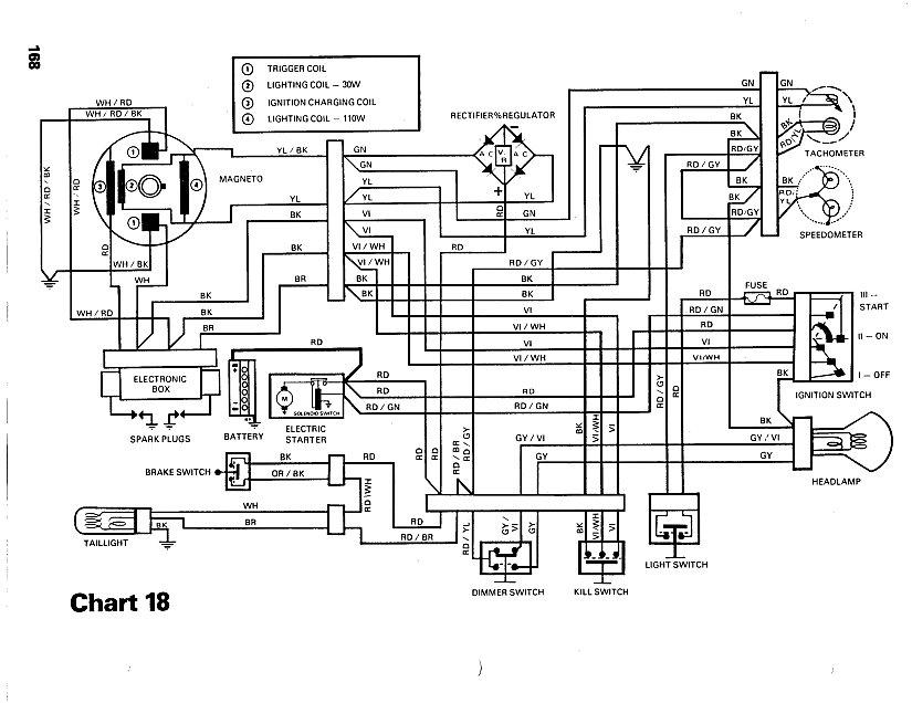 2003 Ski Doo Rev 800 Wiring Diagram