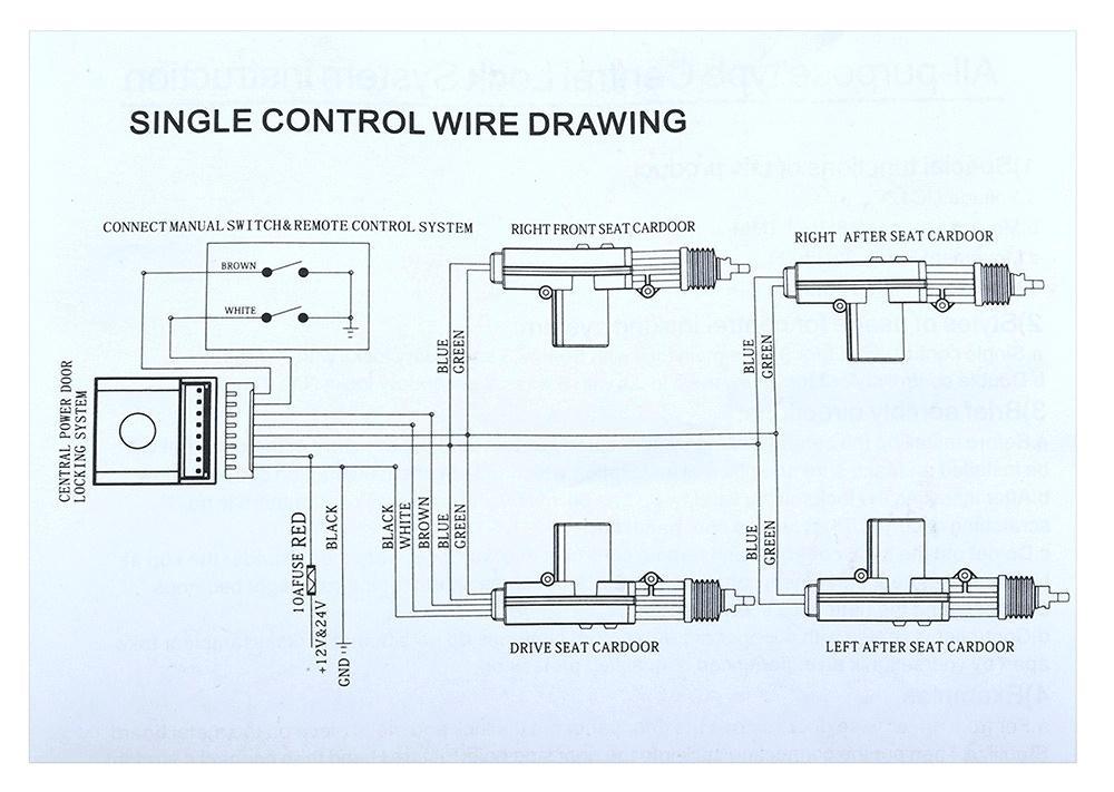 Door Lock Wiring Diagram