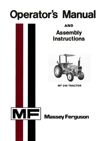 Super Massey Ferguson Mf 245 Tractor Operators Manual Wiring Cloud Histehirlexornumapkesianilluminateatxorg
