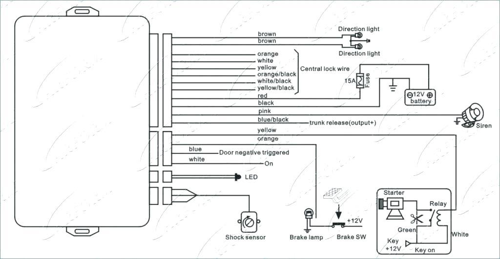 wiring diagram for scorpion car alarm