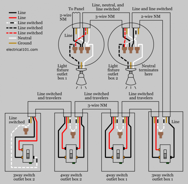 rd7659 cooper 4 way switch wiring diagram wiring diagram
