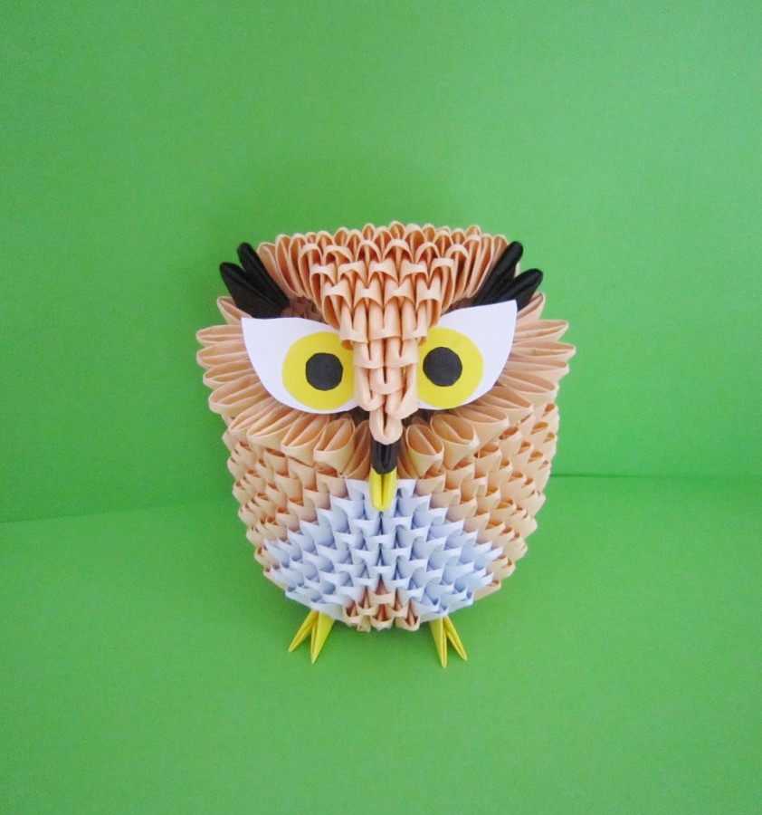 How To Make 3D Origami Owl | Justin Tran | 900x842