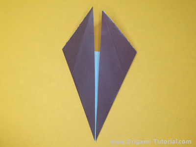 origami deer head 1 | Origami easy, Christmas origami, Origami love | 300x400