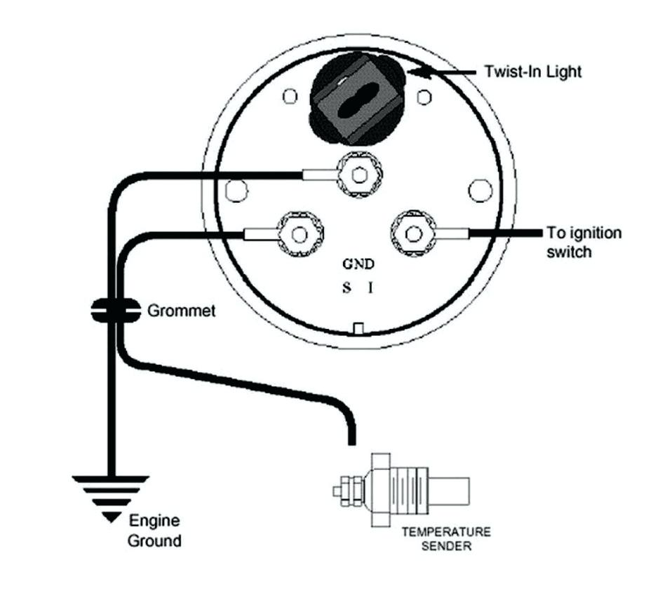vdo oil pressure gauge wiring diagram blue  teleflex gas