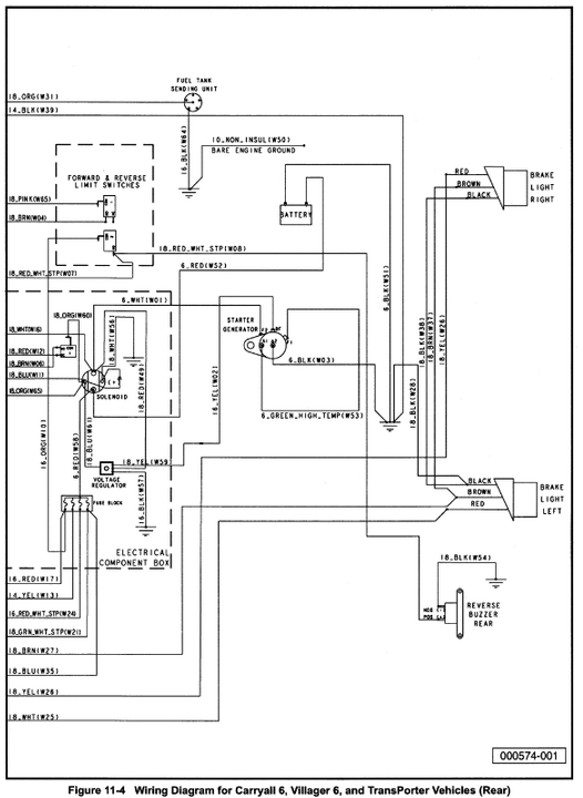 tn0827 villager club car wiring diagram wiring diagram