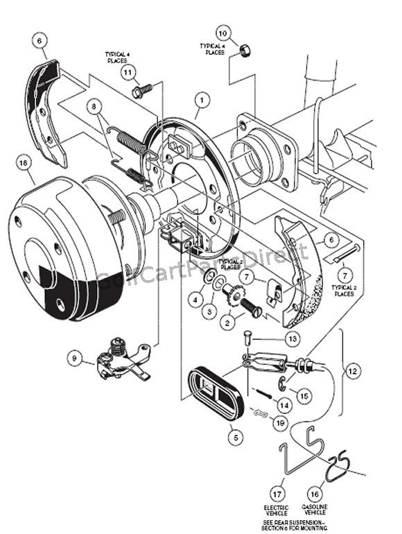 cw3882 yamaha electric golf cart wiring diagram g9 wiring