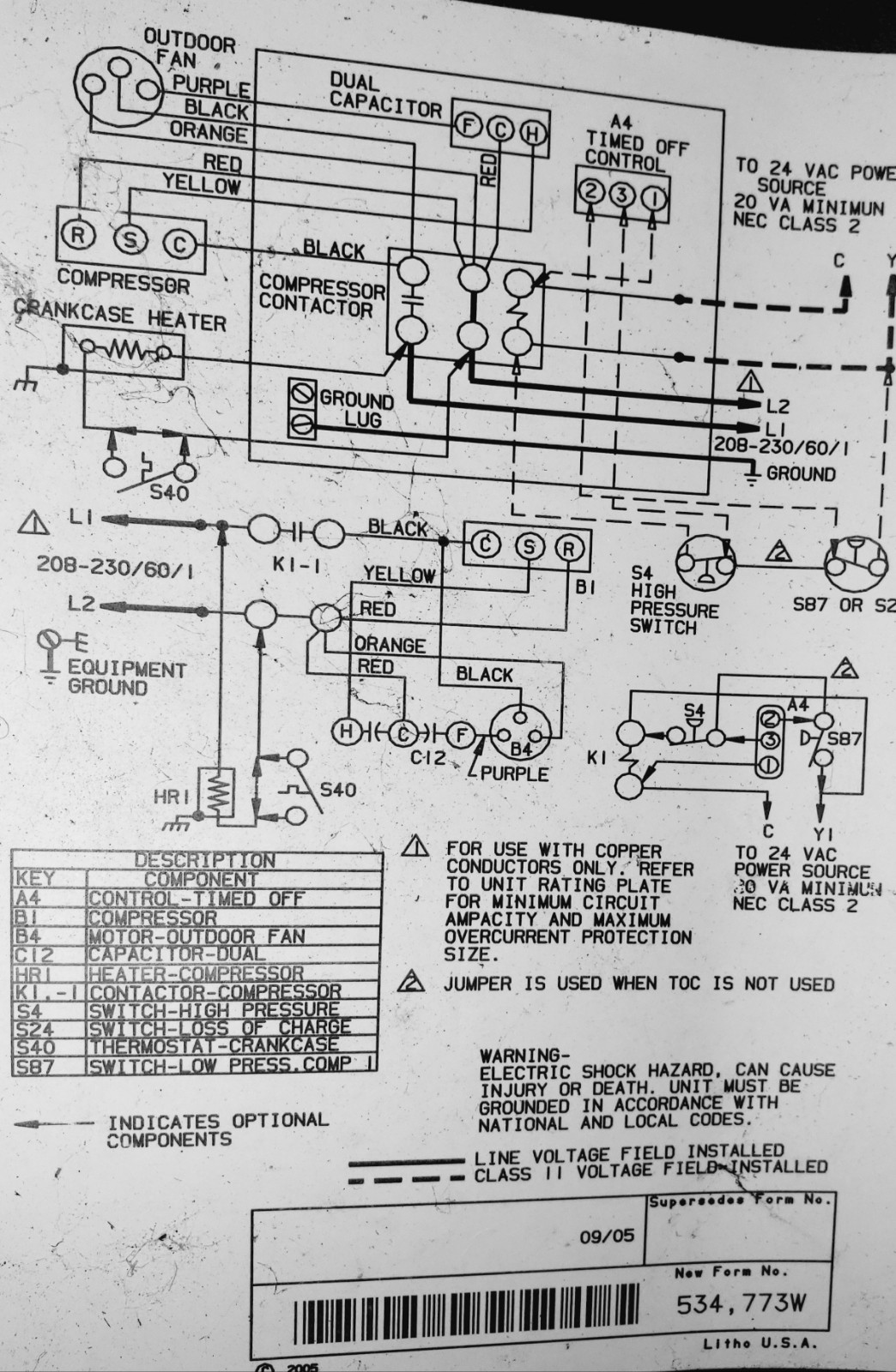 Air Conditioner Wiring Diagram Wiring Diagram