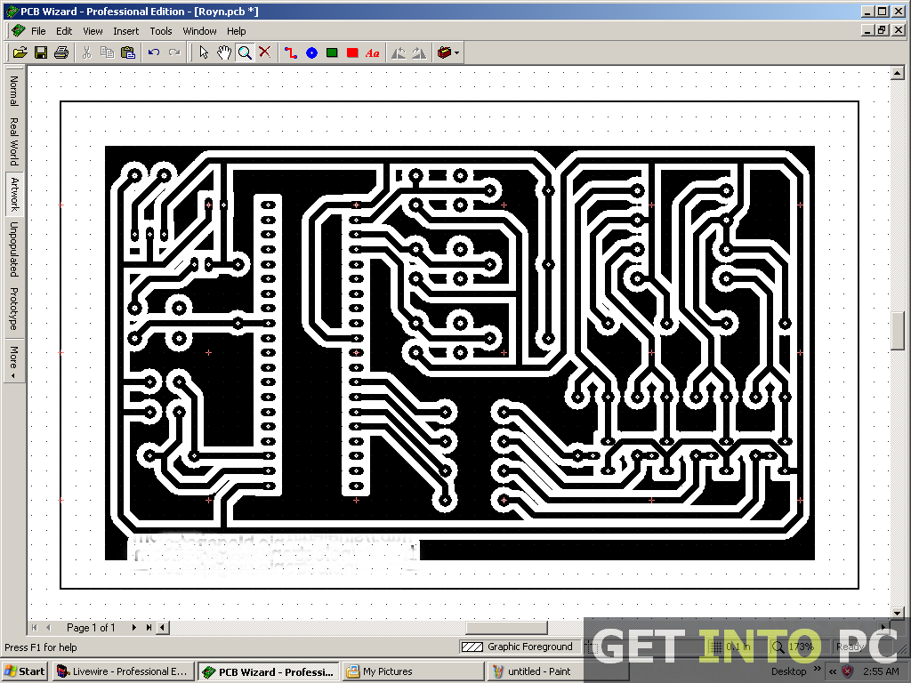 Xh 5444 Freeware Download Pcb Design With Circuit Wizard Free Diagram
