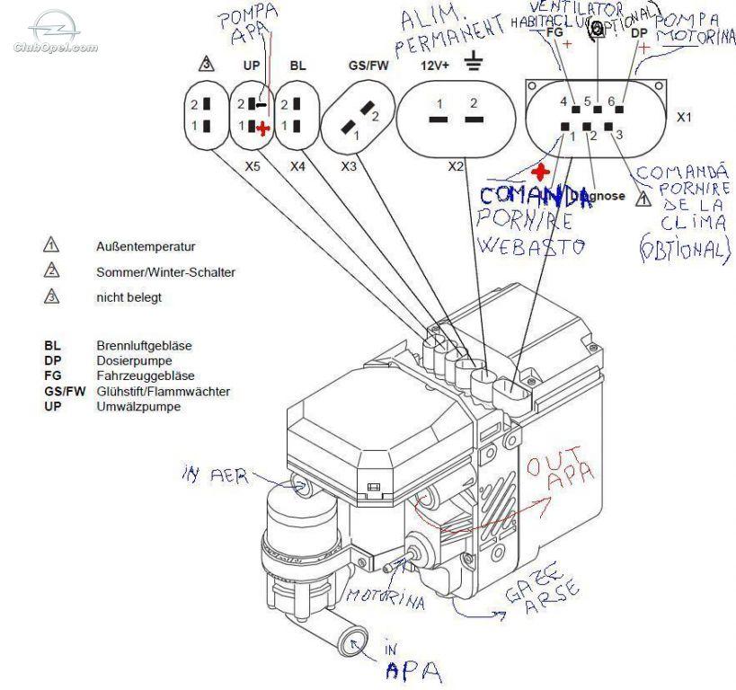 Oe 1118  Webasto Thermo Top C Wiring Diagram Free Diagram