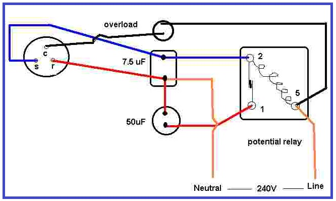 nm6508 compressor current relay wiring diagram download