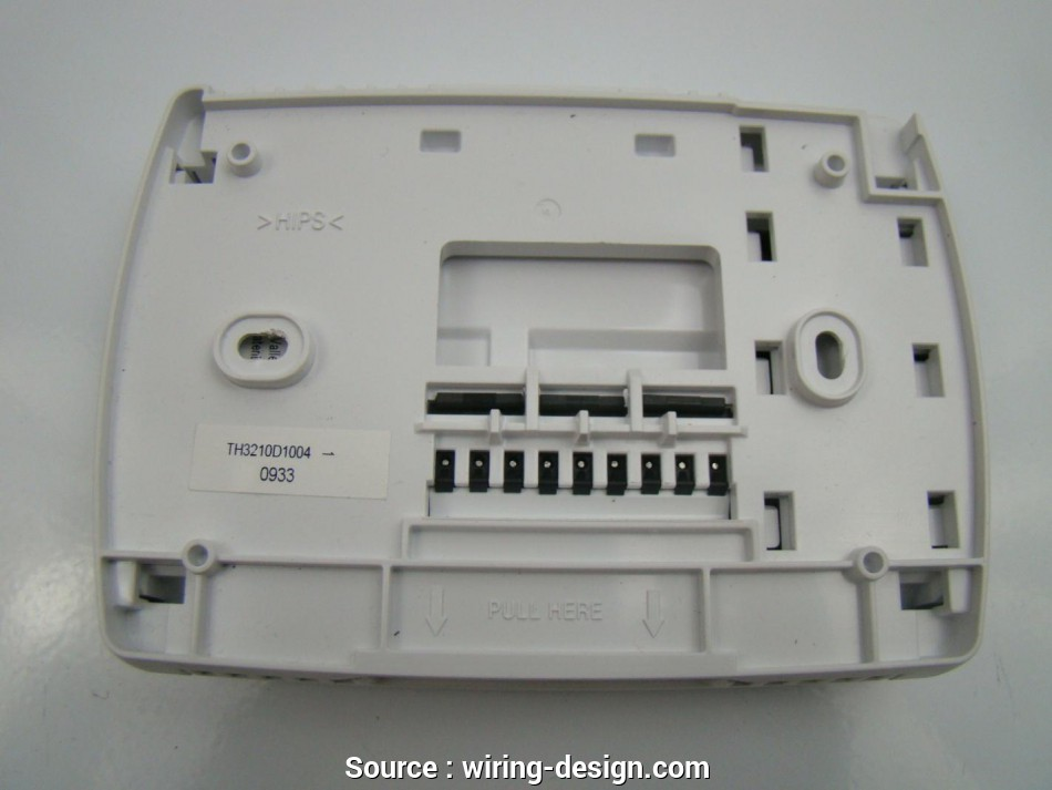 Honeywell Thermostat Rth2300 Wiring Diagram - Database