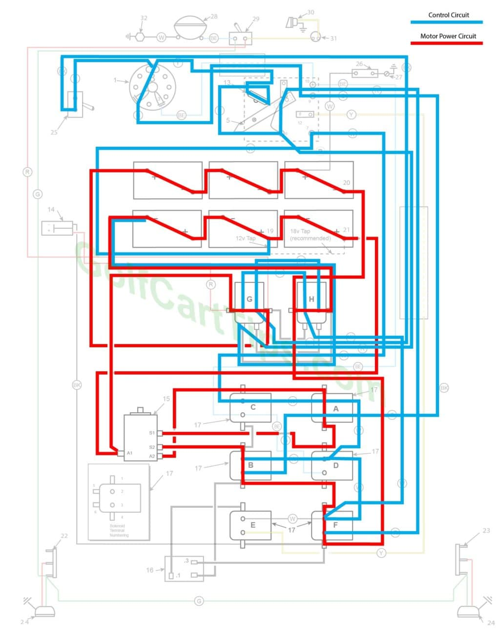 Tf 2322 19661967 Model Dec Electric Wiring Schematic Wiring