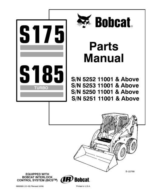 Ml 0435 Bobcat S175 Wiring Diagram Free Diagram