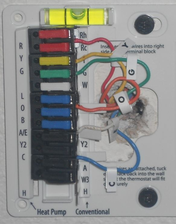Hunter Thermostat 44760 Wiring Diagram