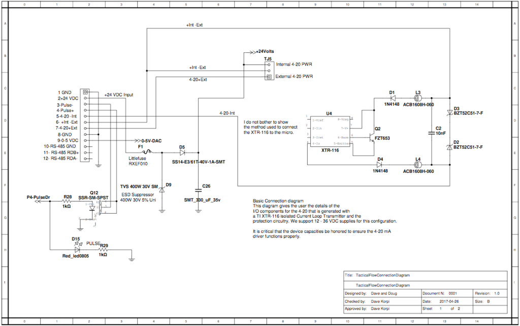 Oz 5823  Lm1830 Flow Switch Level Sensors Schematic