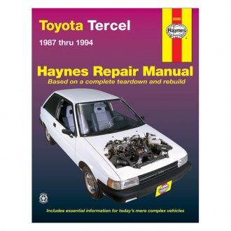 Vc 8186 1988 Toyota Tercel Sedan Wiring Diagram Manual Original Wiring Diagram