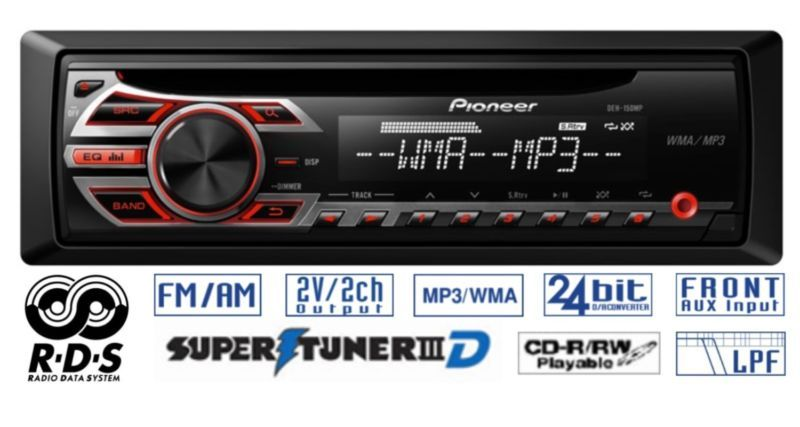 Groovy Pioneer Car Radio Stereo Cd Player Aux Supertuneriii Rds Mp3 Deh Wiring Cloud Licukaidewilluminateatxorg