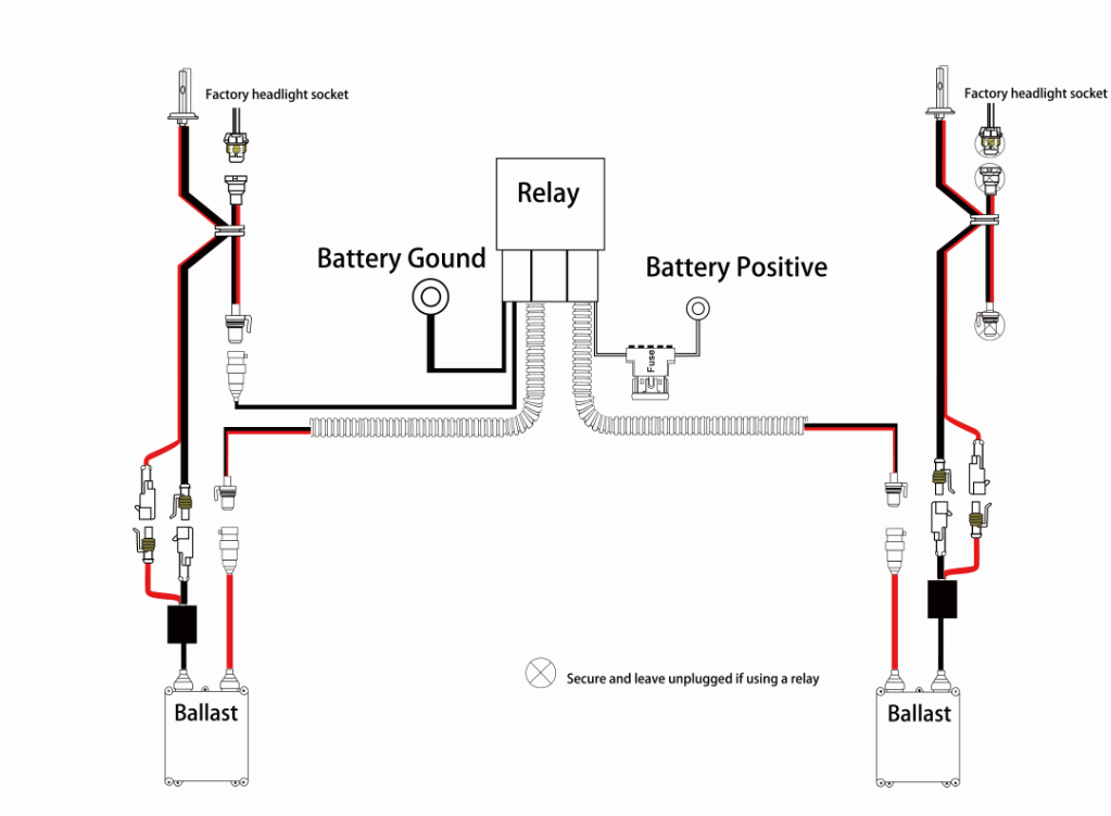 H13 Headlight Wiring Diagram - Collection