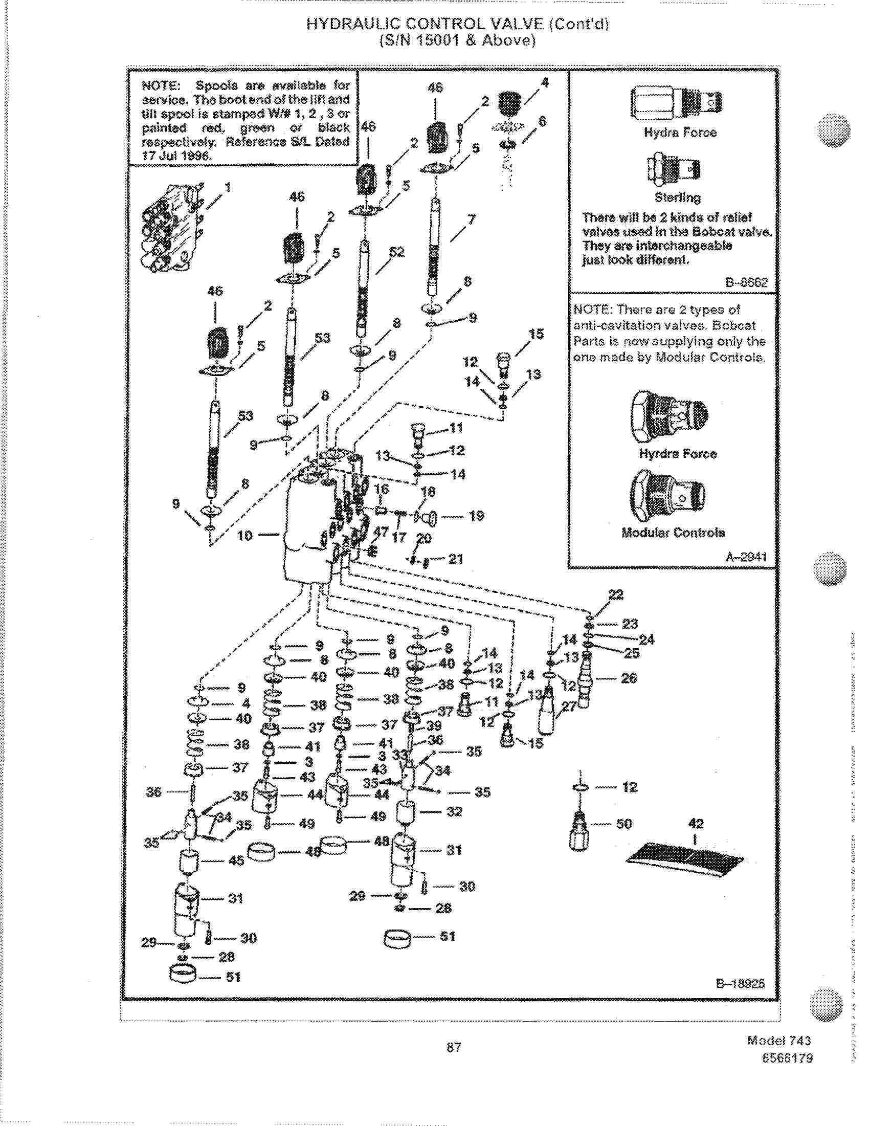 Ln 0558  Bobcat Control Valve Diagram Download Diagram