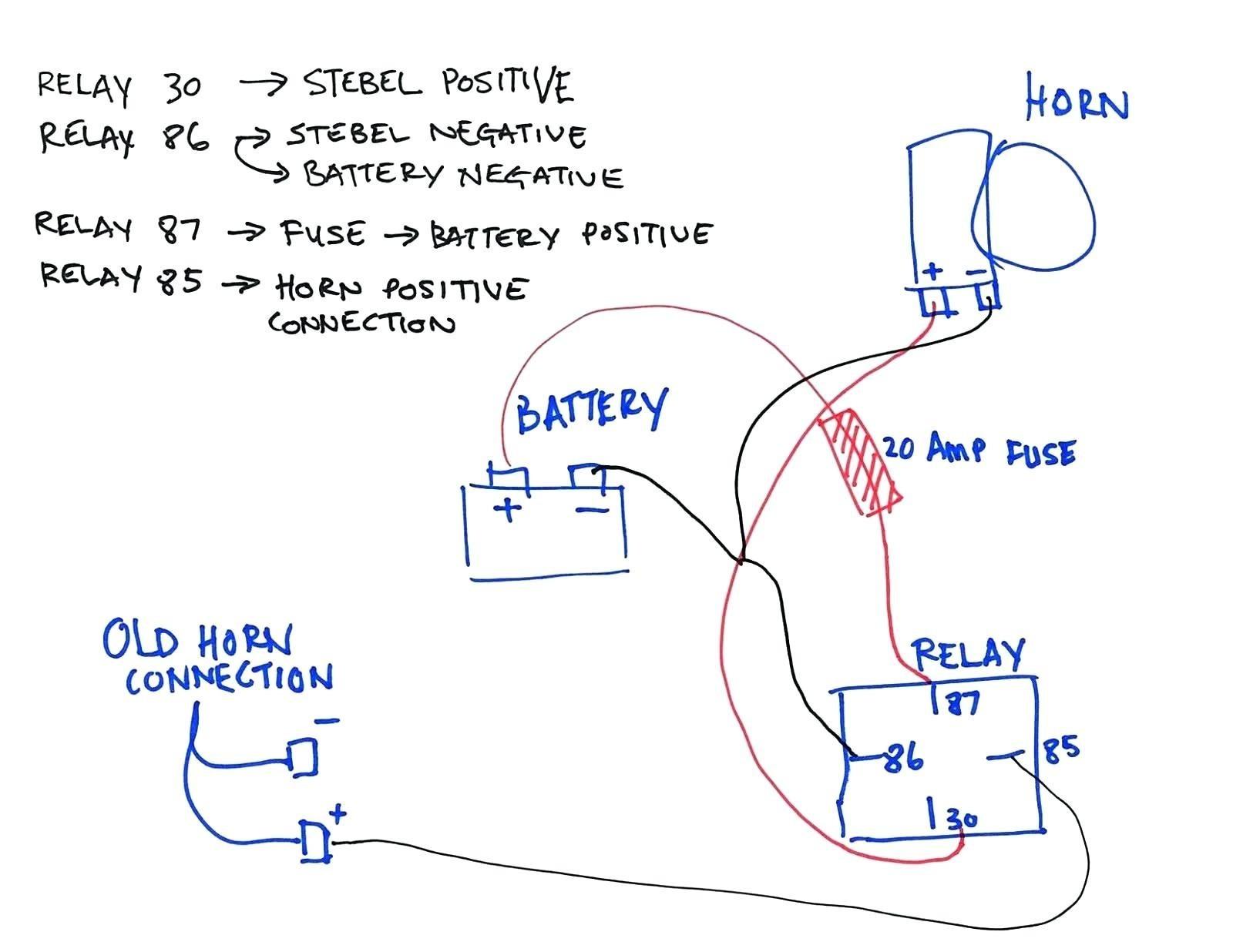 am_6113] auto wiring a horn download diagram  chim globe suuccess librar wiring 101