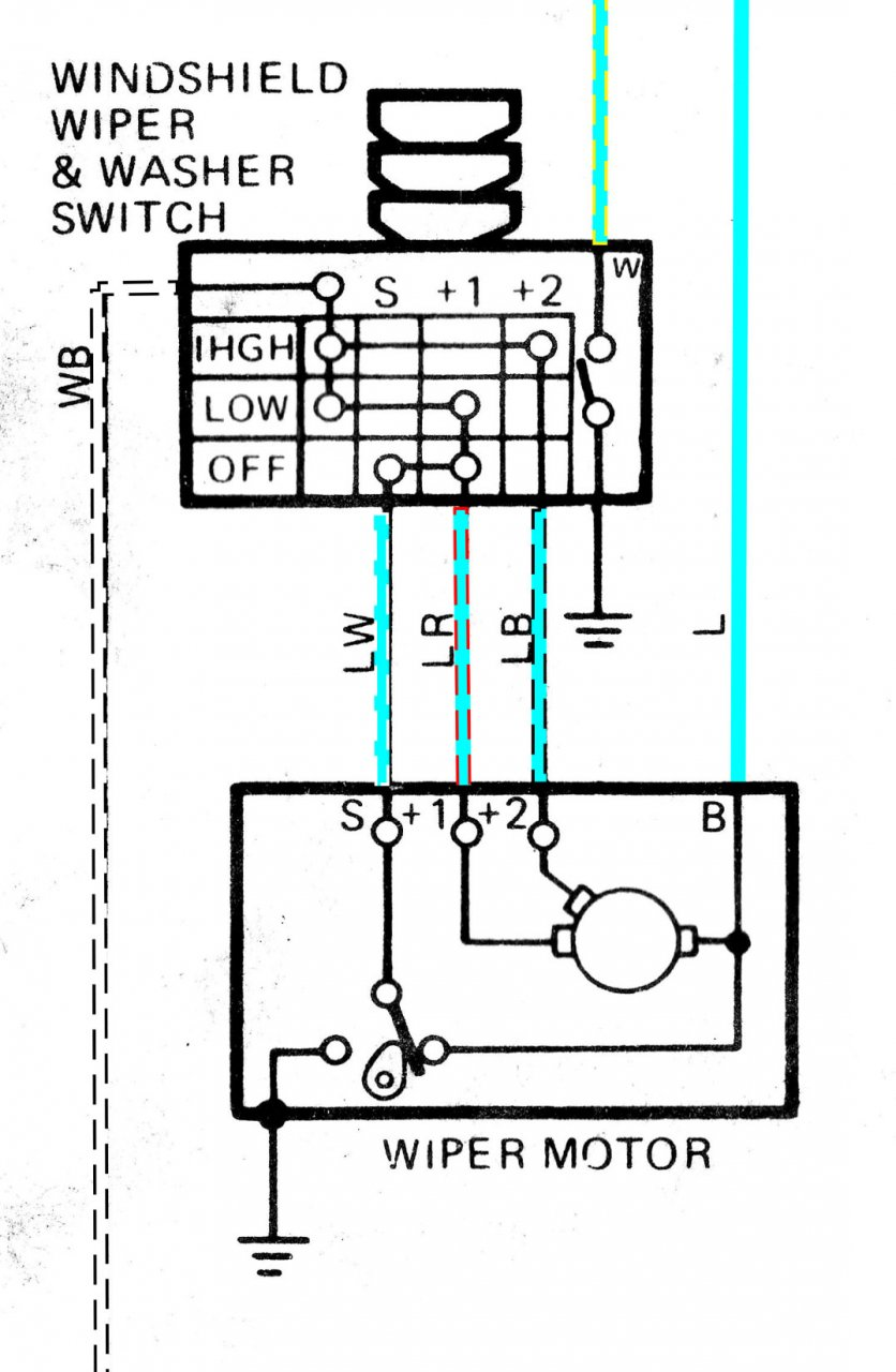 Boat Windshield Wiper Motor Wiring