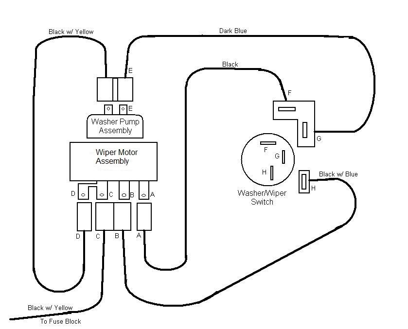 eb0978 1967 camaro wiper motor wiring diagram schematic wiring