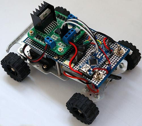 Marvelous Simple Rc Car For Beginners Android Control Over Bluetooth 10 Wiring Cloud Licukshollocom