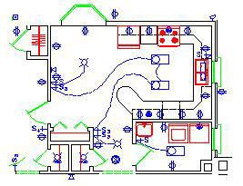 Terrific 2D Electrical Plan Wiring Diagram Wiring Cloud Icalpermsplehendilmohammedshrineorg