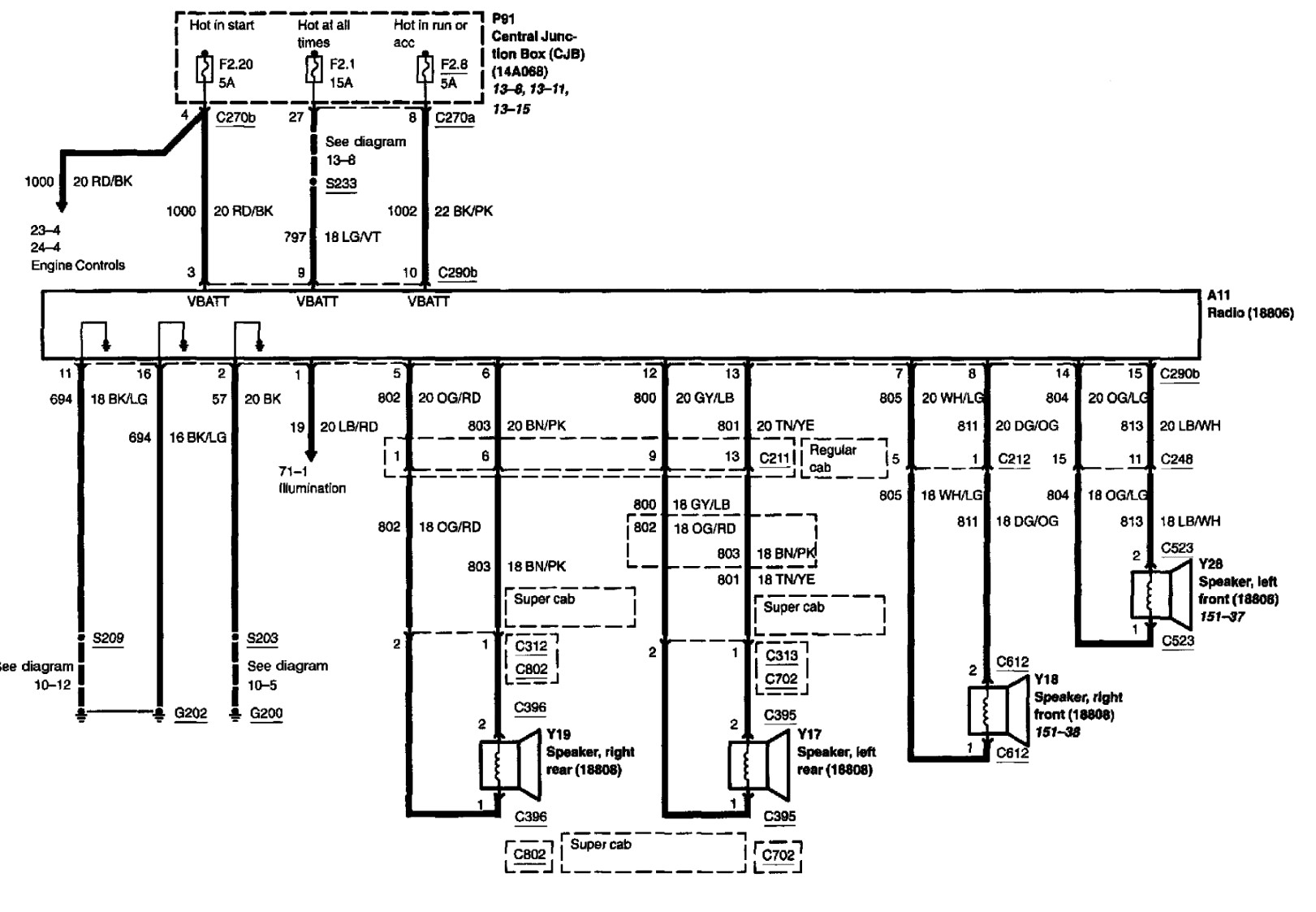 ford f150 radio wiring diagram wb 5267  2013 f 150 tow package wiring diagram 2001 ford f150 radio wiring diagram 2013 f 150 tow package wiring diagram