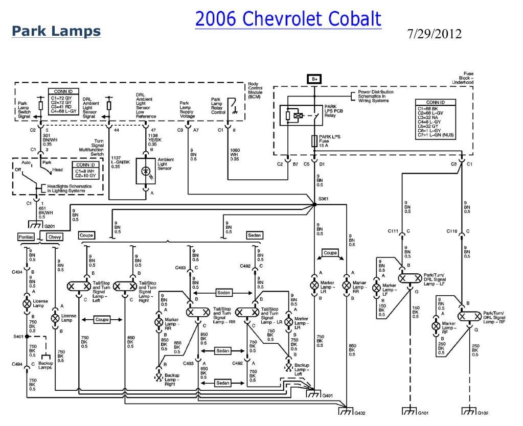 2006 Chevy Cobalt Starter Wiring Diagram - Wiring Diagram