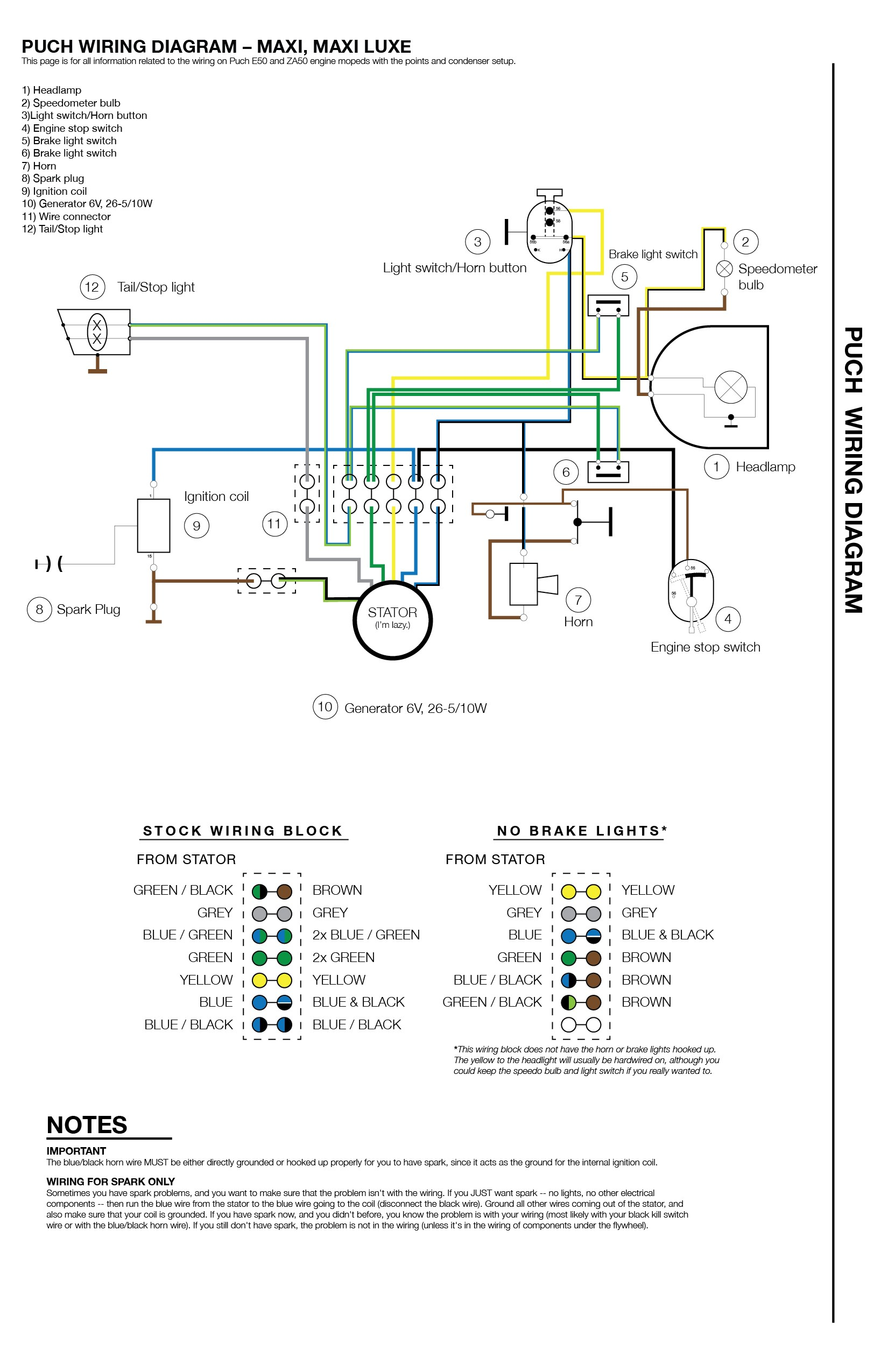 40 Pin Cdi Wiring Diagram   Two Light Wiring Diagram T40   astrany ...