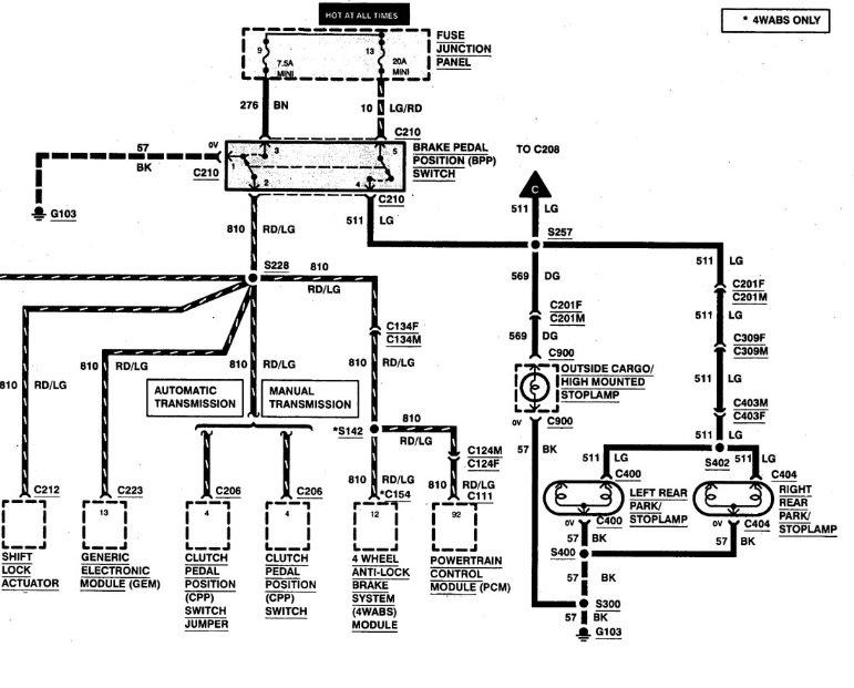 Ford Ranger Brake Light Wiring Diagram -Semi Trailer Plug Wiring Diagram  With Abs   Begeboy Wiring Diagram Source   Ford Ranger Tail Light Wiring Diagram      Bege Wiring Diagram - Begeboy Wiring Diagram Source