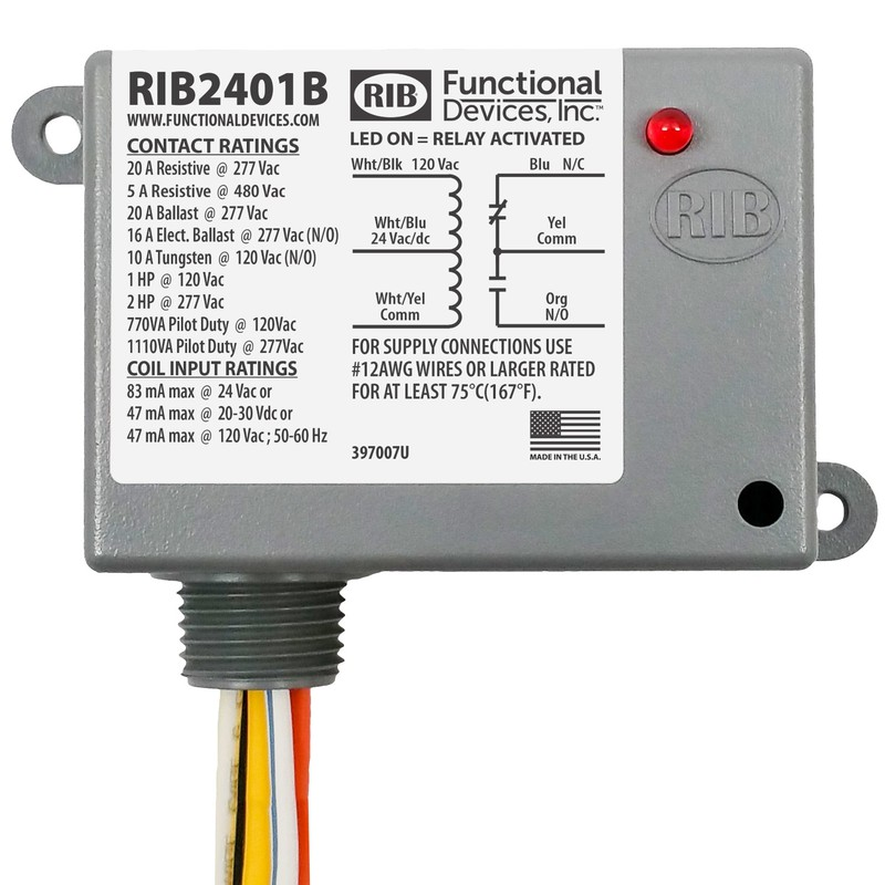 Phenomenal Kele Com Functional Devices Rib2401B Relays Contactors Power Wiring Cloud Ostrrenstrafr09Org