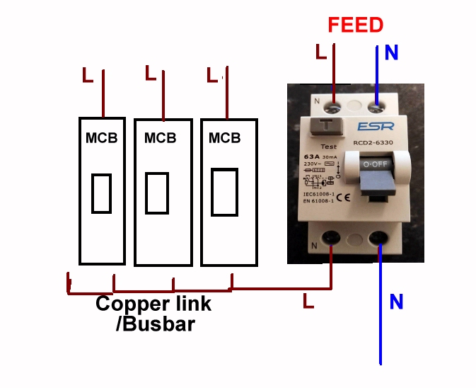 Remarkable Wiring Up Rcd Rccb Diynot Forums Wiring Cloud Licukaidewilluminateatxorg