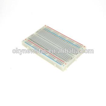 Sensational Electronic Solderless Breadboard Protoboard Pcb Test Board 400 Wiring Cloud Vieworaidewilluminateatxorg