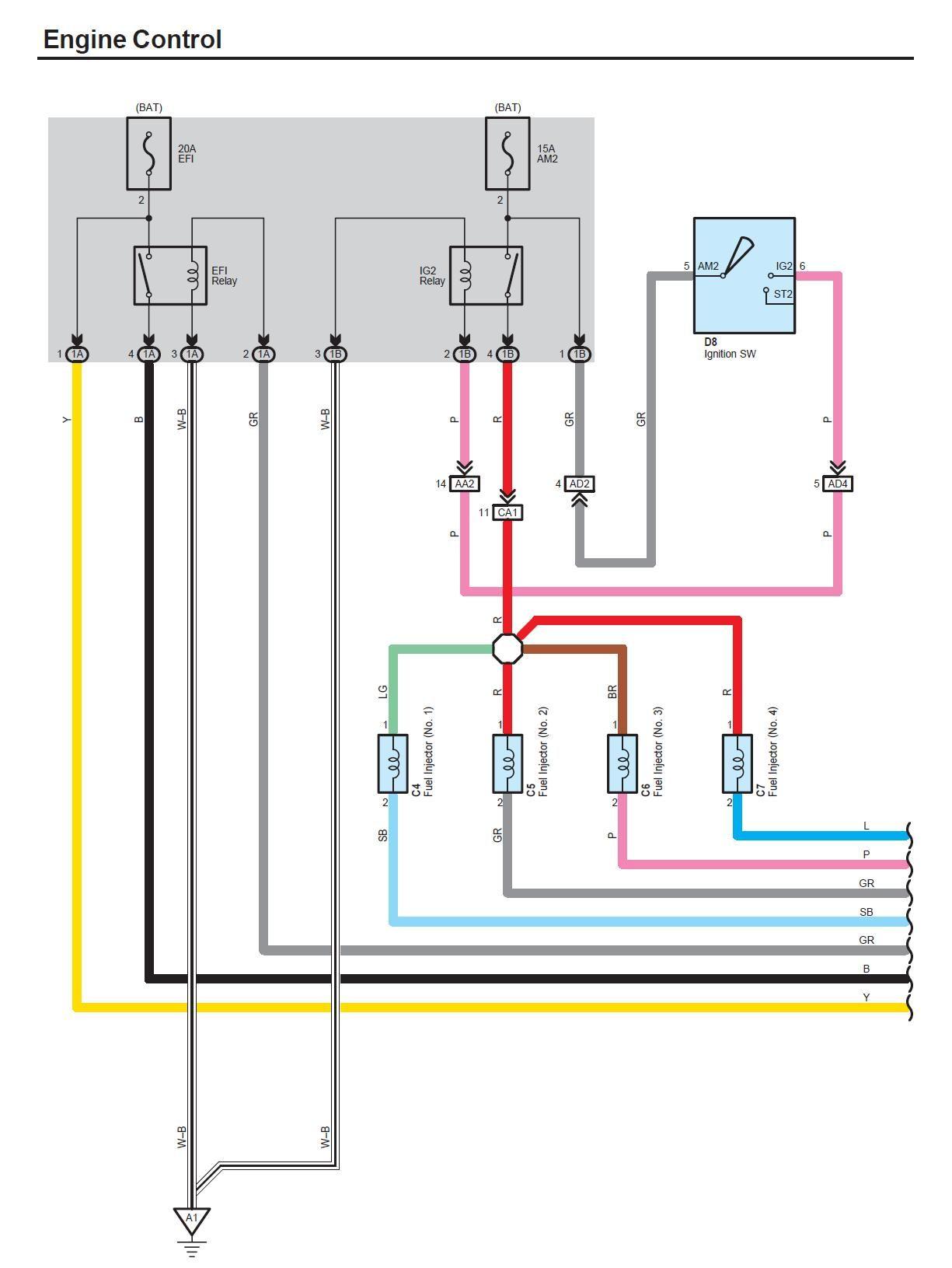 RY_1354] Toyota Yaris Engine Diagram Schematic Wiring