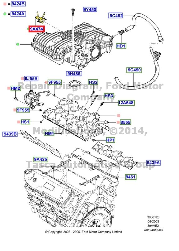 Ford Intake Diagram Data Wiring Diagram