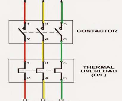motor starter control wiring diagram  trailer light wire