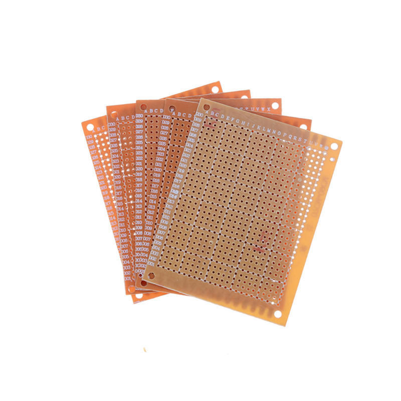 Cool 5Pcs Prototyping Pcb Circuit Board Strip Board 90X70Mm Copper Wiring Cloud Rdonaheevemohammedshrineorg