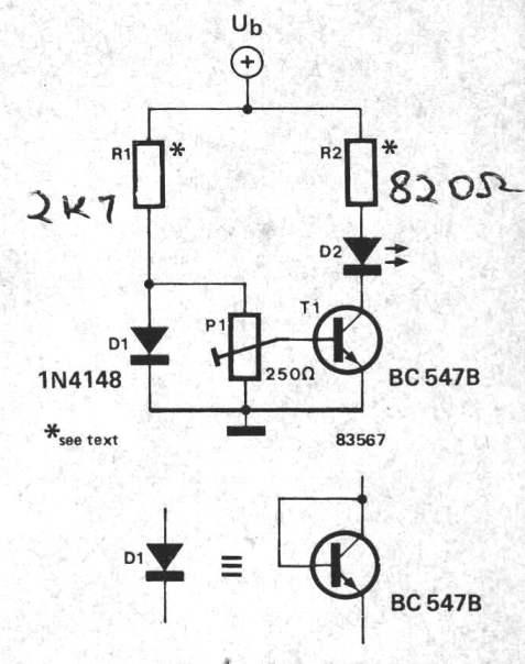 Admirable Simple Temperature Indicator Using Bc547 Transistor Wiring Cloud Cranvenetmohammedshrineorg