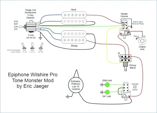 Epiphone Les Paul Traditional Pro Wiring Diagram