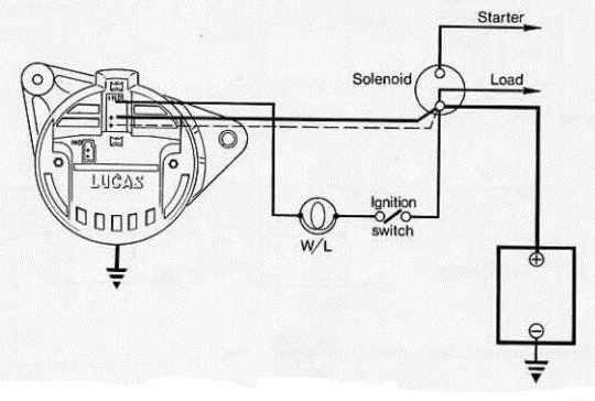 Xn 8160 Lucas Alternator Wiring Schematic Download Diagram