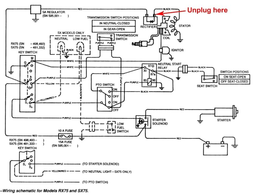 Strange Gt275 Wiring Diagram Wiring Diagram Official Wiring Cloud Licukshollocom